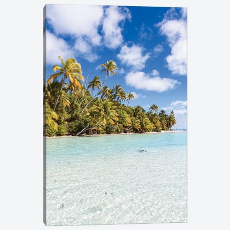 One Foot Island, Cook Islands II Canvas Print #TEO499} by Matteo Colombo Canvas Art Print
