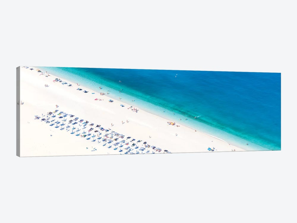 Aerial View Of Myrtos Beach II, Cephalonia, Ionian Islands, Greece by Matteo Colombo 1-piece Canvas Wall Art