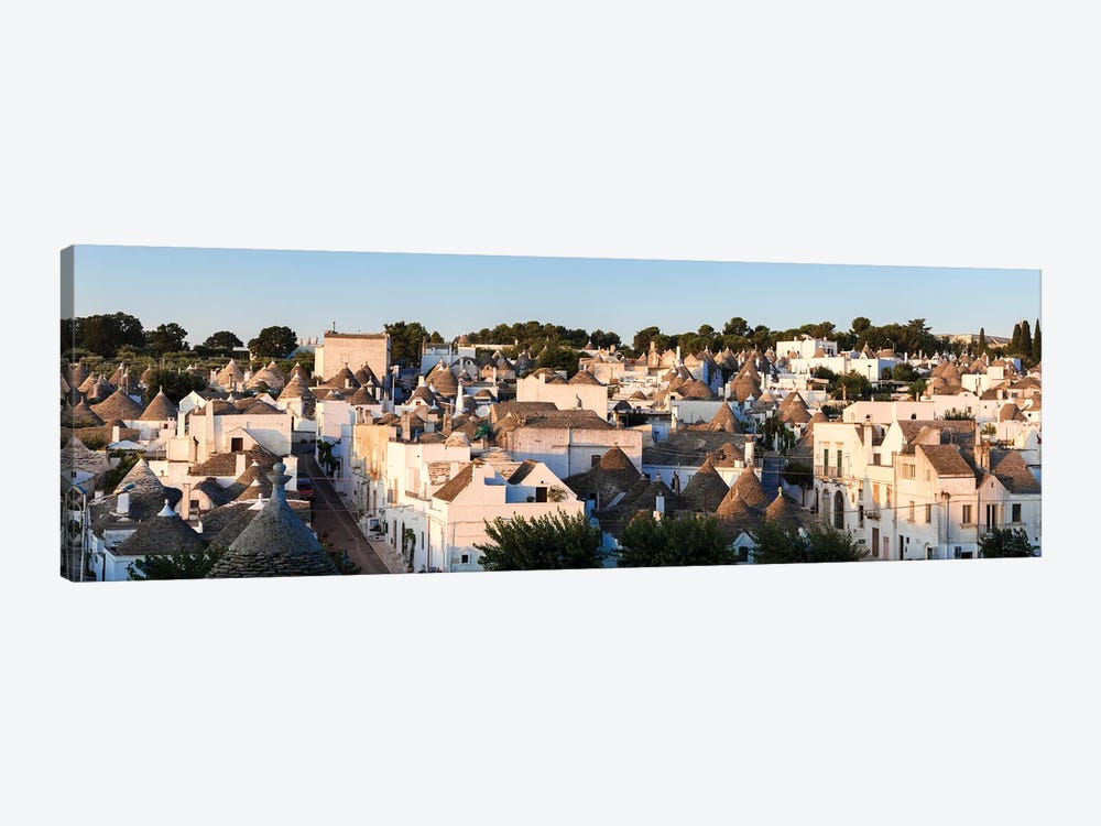 Panoramic Of Trulli Houses, Italy by Matteo Colombo 1-piece Canvas Artwork