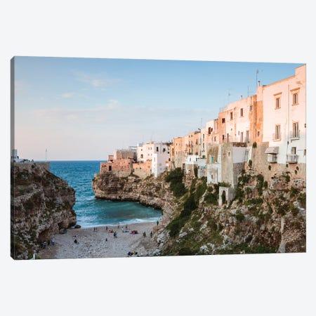 Polignano a Mare, Apulia, Italy Canvas Print #TEO502} by Matteo Colombo Canvas Print