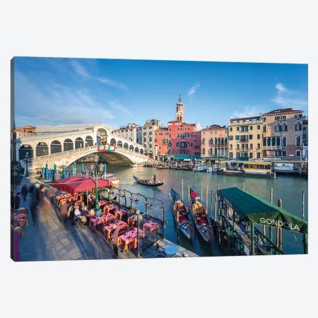 Rialto Bridge, Venice Canvas Print #TEO503} by Matteo Colombo Canvas Art Print