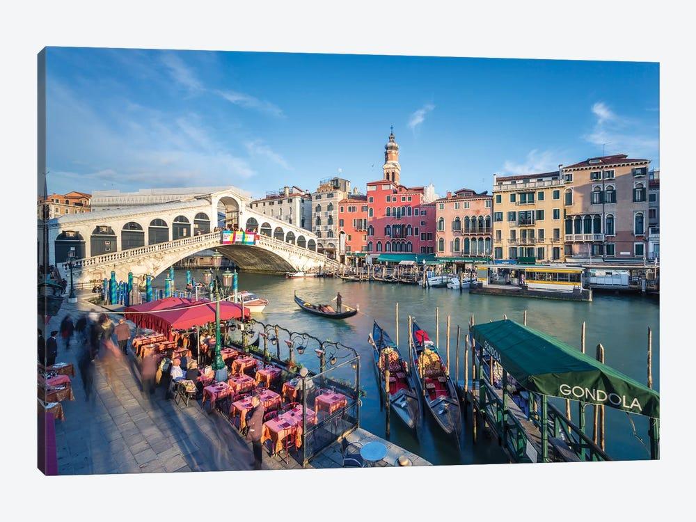 Rialto Bridge, Venice by Matteo Colombo 1-piece Canvas Print