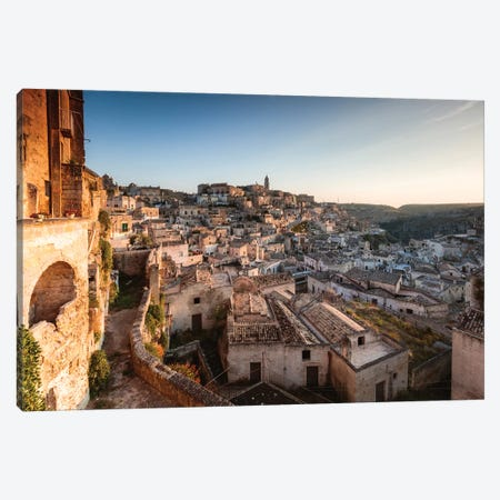 Sassi di Matera, Italy II Canvas Print #TEO506} by Matteo Colombo Canvas Artwork