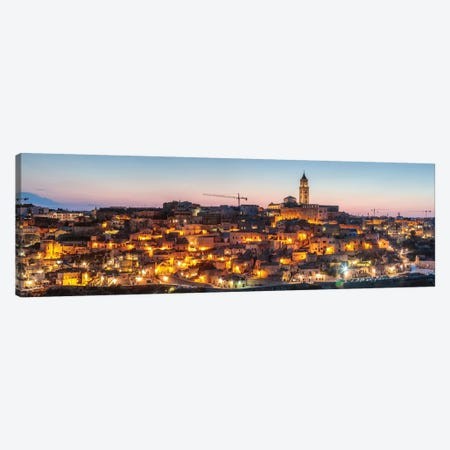 Sassi di Matera, Italy III Canvas Print #TEO507} by Matteo Colombo Canvas Art