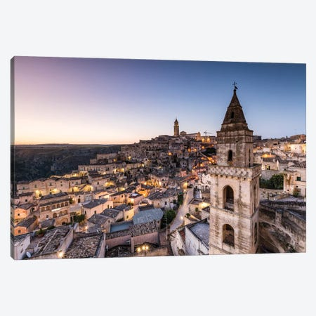 Sassi di Matera, Italy IV Canvas Print #TEO508} by Matteo Colombo Canvas Print