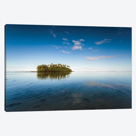 Sunrise in the Cook islands Canvas Print #TEO514} by Matteo Colombo Canvas Print