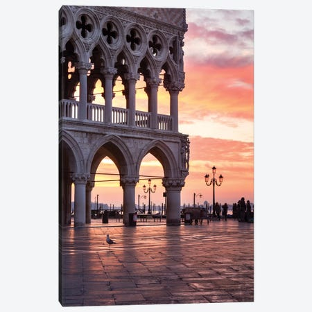 The Doge's Palace, Venice I Canvas Print #TEO520} by Matteo Colombo Canvas Art Print