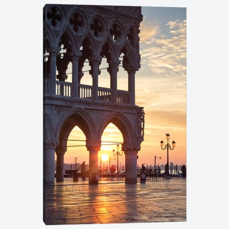 The Doge's Palace, Venice II Canvas Print #TEO521} by Matteo Colombo Art Print