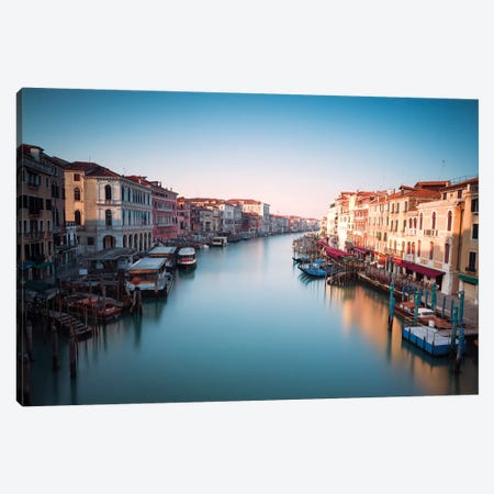 The Grand Canal, Venice, Italy Canvas Print #TEO522} by Matteo Colombo Art Print