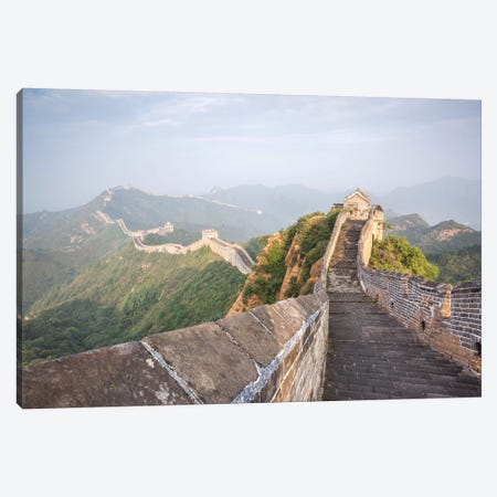 The Great Wall Of China Canvas Print #TEO523} by Matteo Colombo Art Print