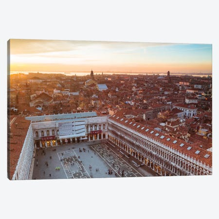 The Roofs Of Venice Canvas Print #TEO524} by Matteo Colombo Canvas Art