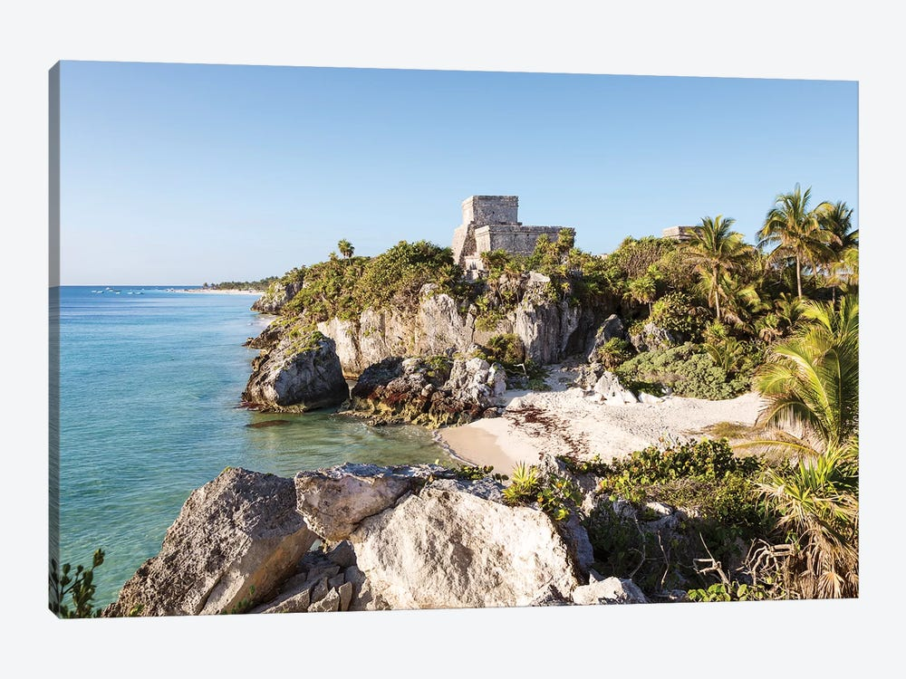 The Ruins Of Tulum, Mexico II by Matteo Colombo 1-piece Canvas Artwork