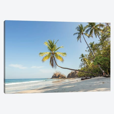 Tropical Beach, Costa Rica Canvas Print #TEO528} by Matteo Colombo Canvas Print
