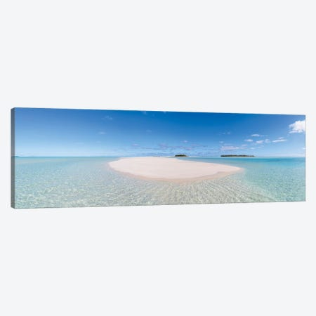 Tropical Paradise, Cook Islands Canvas Print #TEO529} by Matteo Colombo Canvas Print