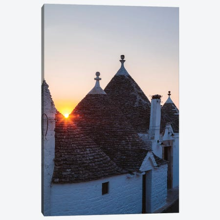 Trulli Houses, Apulia, Italy II Canvas Print #TEO531} by Matteo Colombo Canvas Artwork