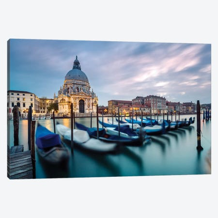 Venetian Sunset Canvas Print #TEO532} by Matteo Colombo Canvas Wall Art