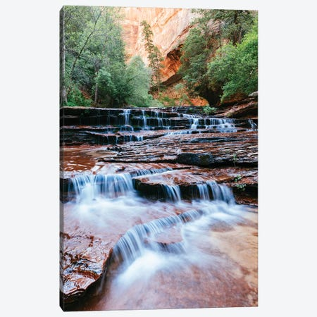Archangel Cascades, Zion Canvas Print #TEO538} by Matteo Colombo Canvas Art
