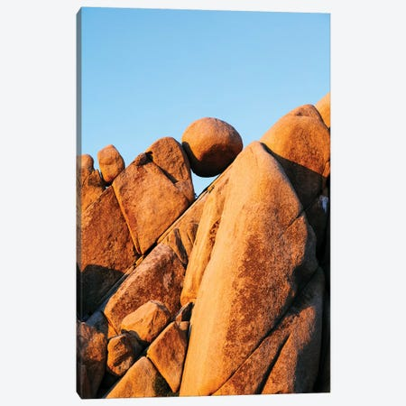 Balancing Rock, Yoshua Tree 3-Piece Canvas #TEO539} by Matteo Colombo Canvas Art