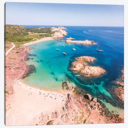 Cala Pregonda, Menorca, Spain Canvas Print #TEO553} by Matteo Colombo Canvas Wall Art