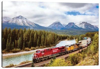 Canadian Pacific Railway, Alberta Canvas Art Print