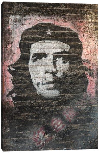 Che Guevara Murales Canvas Art Print