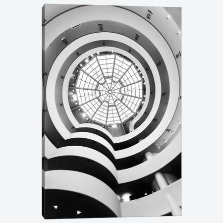 Main Gallery Skylight, Solomon R. Guggenheim Museum, New York City, New York, USA Canvas Print #TEO55} by Matteo Colombo Canvas Artwork