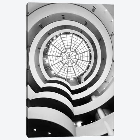 Main Gallery Skylight, Solomon R. Guggenheim Museum, New York City, New York, USA Canvas Print #TEO55} by Matteo Colombo Canvas Artwork