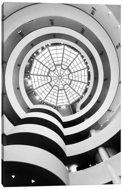 Main Gallery Skylight, Solomon R. Guggenheim Museum, New York City, New York, USA Canvas Art Print
