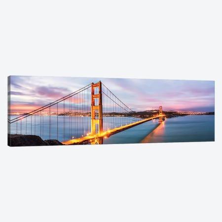 Golden Gate Bridge At Dawn, San Francisco Canvas Print #TEO576} by Matteo Colombo Art Print