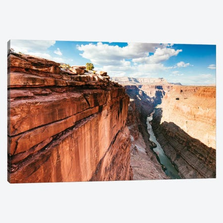 Grand Canyon And Colorado River II Canvas Print #TEO582} by Matteo Colombo Canvas Print