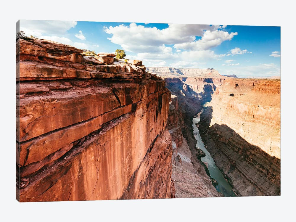 Grand Canyon And Colorado River II by Matteo Colombo 1-piece Canvas Art