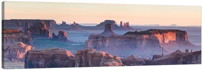 Hunt's Mesa Panoramic, Monument Valley II Canvas Art Print