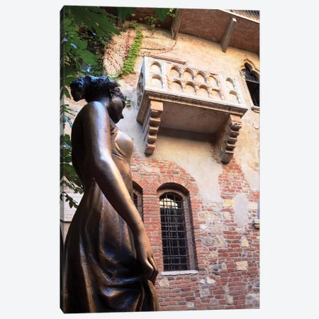 Juliet's Balcony In Verona II Canvas Print #TEO589} by Matteo Colombo Canvas Print