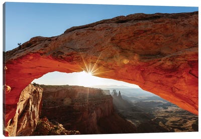 Mesa Arch At Sunrise II, Canyonlands National Park, Utah, USA Canvas Print #TEO58