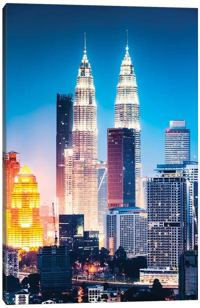 Kuala Lumpur Skyline, Malaysia V Canvas Art Print