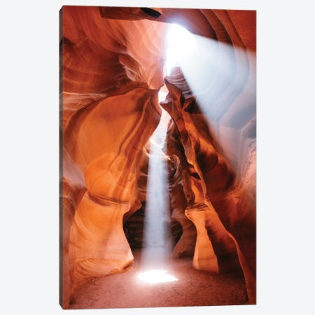 Light Show At Antelope Canyon Canvas Print #TEO594} by Matteo Colombo Canvas Print