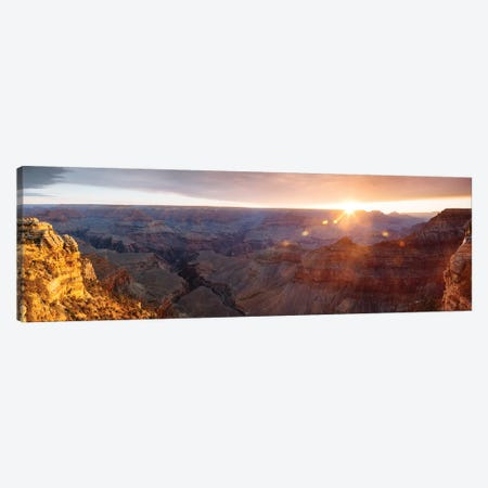 Mather Point, Grand Canyon Canvas Print #TEO600} by Matteo Colombo Canvas Wall Art