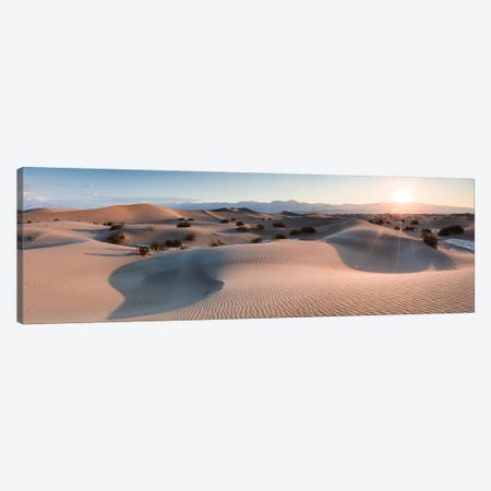 Mesquite Flat Sand Dunes, Death Valley I Canvas Print #TEO603} by Matteo Colombo Canvas Artwork