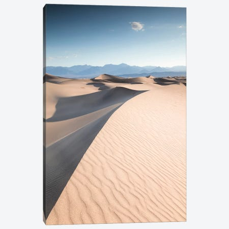 Mesquite Flat Sand Dunes, Death Valley II Canvas Print #TEO604} by Matteo Colombo Canvas Print