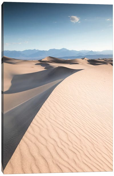 Mesquite Flat Sand Dunes, Death Valley II Canvas Art Print