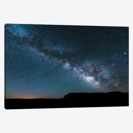 Milky Way In The Sky, Arizona Canvas Print #TEO606} by Matteo Colombo Canvas Art Print
