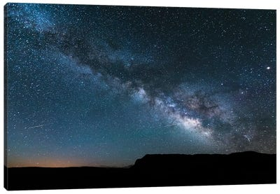 Milky Way In The Sky, Arizona Canvas Art Print