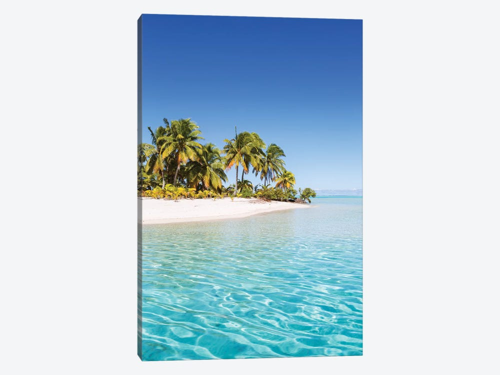 One Foot Island, Aitutaki, Cook Islands by Matteo Colombo 1-piece Canvas Print