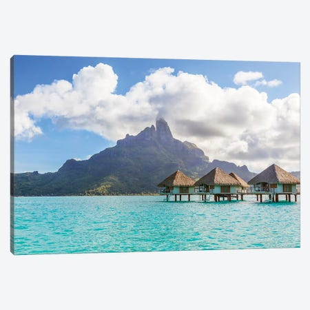 Paradise Found, Bora Bora, French Polynesia Canvas Print #TEO621} by Matteo Colombo Canvas Wall Art