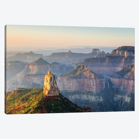 Point Imperial, Grand Canyon Canvas Print #TEO622} by Matteo Colombo Canvas Artwork