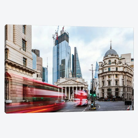 Royal Exchange, London, UK Canvas Print #TEO627} by Matteo Colombo Art Print