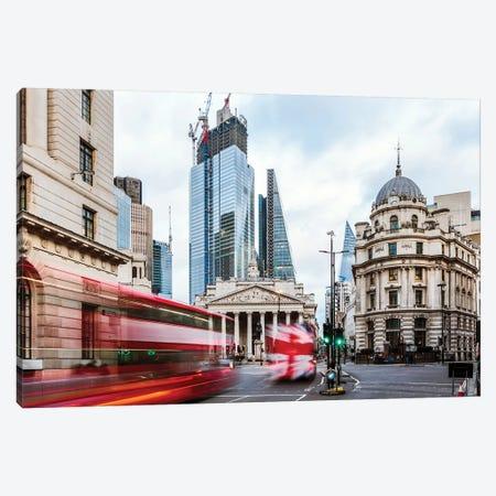 Royal Exchange, London, UK Canvas Print #TEO627} by Matteo Colombo Art Print