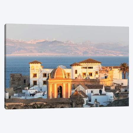Strait Of Gibraltar, Andalusia, Spain Canvas Print #TEO634} by Matteo Colombo Canvas Art