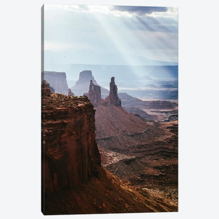 Sunlight Over Canyonlands, Utah II Canvas Print #TEO635} by Matteo Colombo Canvas Art