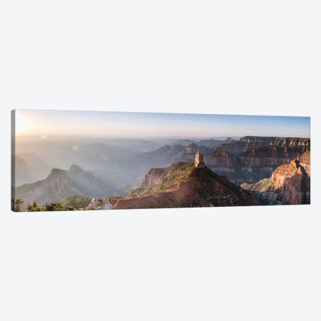 Sunrise At Point Imperial, Grand Canyon Canvas Print #TEO636} by Matteo Colombo Canvas Artwork